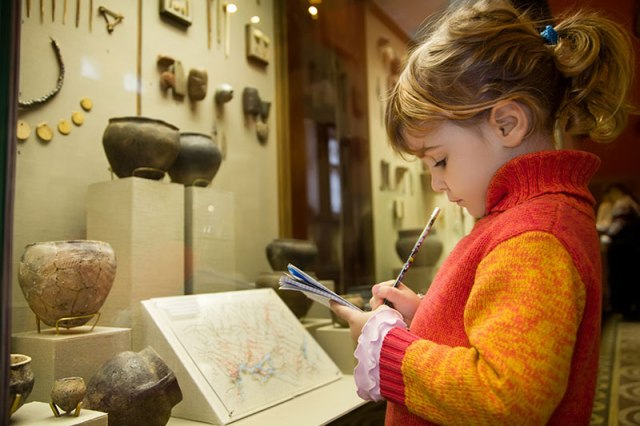 A Child in a Museum